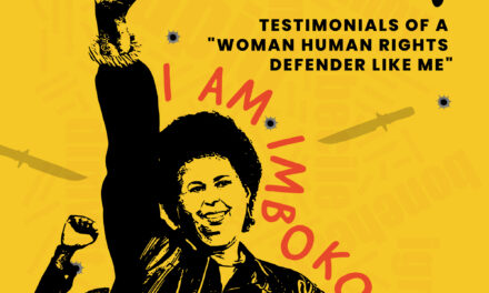 "Call for Testimonials of ""A Woman Human Rights Defender Like Me"""