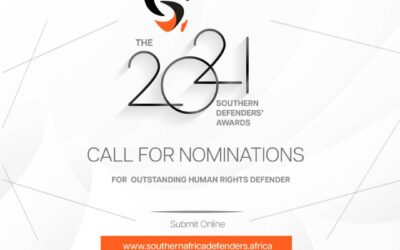 THE 2021 SOUTHERN DEFENDERS' AWARDS CALL FOR NOMINATIONS